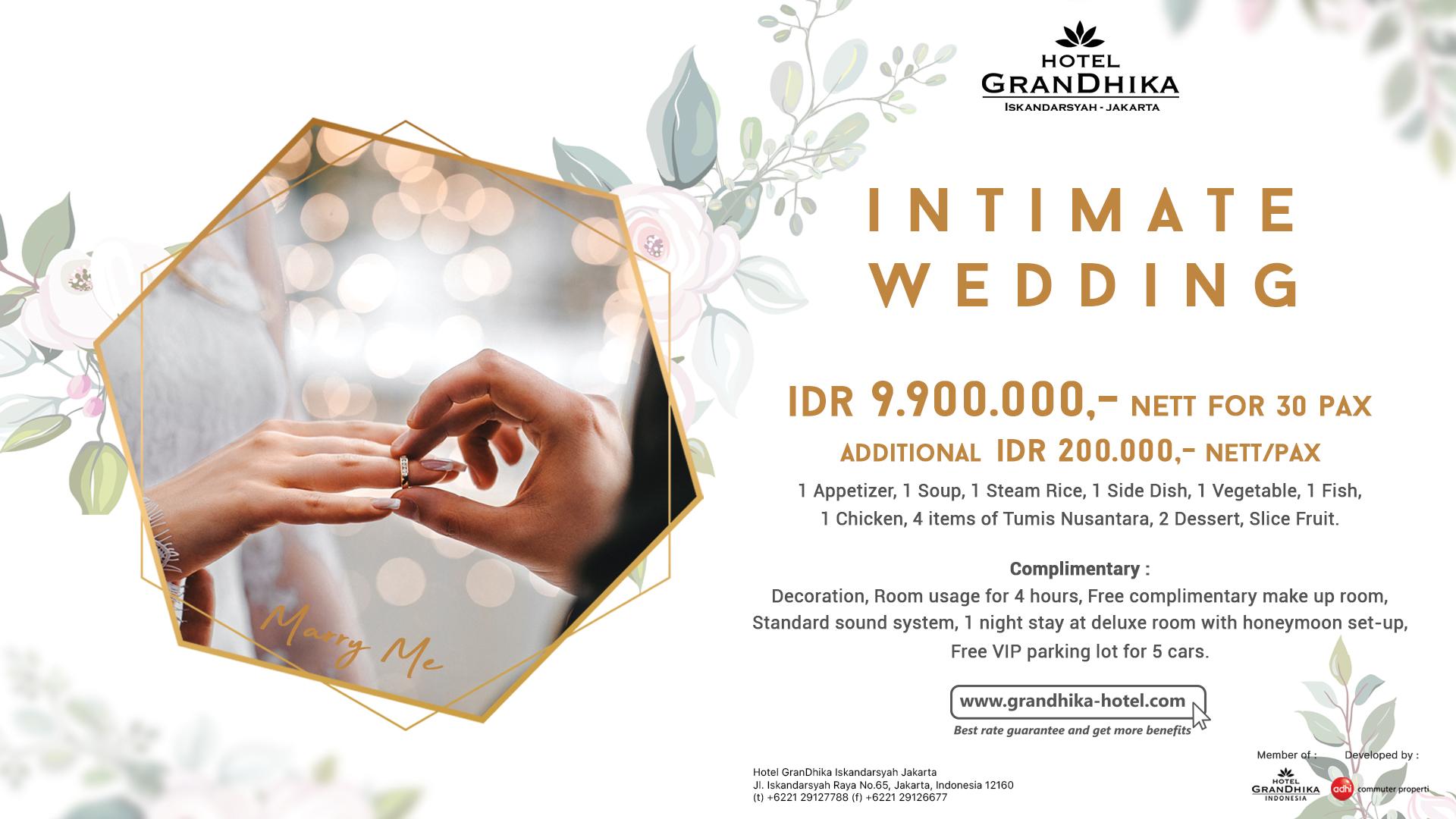 Wedding Grandhika Iskandarsyah Jakarta